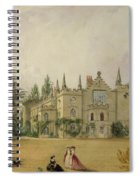 View Of Strawberry Hill Middlesex Spiral Notebook