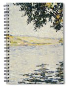 View Of The Seine At Herblay     Spiral Notebook