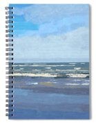 View Of The Texas Gulf Spiral Notebook