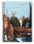 Villa By The Sea 1878 Spiral Notebook