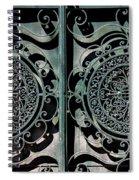 Villa Gate Spiral Notebook