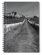Vineyard In Saint-emilion Spiral Notebook
