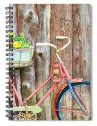 Vintage Bicycles Spiral Notebook