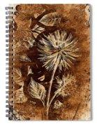 Vintage Blossom Spiral Notebook