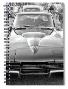 Vintage Corvette Spiral Notebook