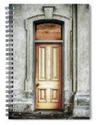Vintage Door Spiral Notebook