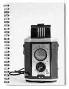Vintage Eastman Kodak Brownie Reflex Synchro Model Film Camera Spiral Notebook