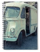 Vintage International Harvester Metro Delivery Van Spiral Notebook