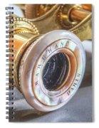 Vintage Opera Glasses Spiral Notebook