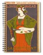 Vintage Poster - Louis Rhead Spiral Notebook