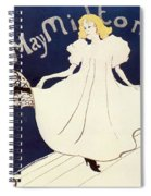 Vintage Poster - May Milton Spiral Notebook