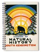 Vintage Poster - South Kensington Spiral Notebook