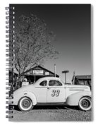 Vintage Race Car Gold King Mine Ghost Town Spiral Notebook
