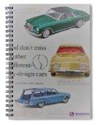 Vintage Studebaker Advertisement Spiral Notebook