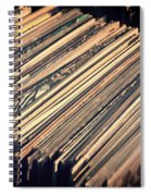 Vinyl Records Spiral Notebook