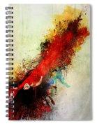 Violently Happy Spiral Notebook