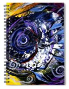 Violet Tri Fish Spiral Notebook