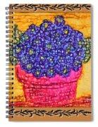 Violets Are  Blue  Spiral Notebook