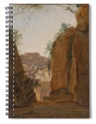 Virgil S Tomb  Naples  Spiral Notebook