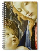 Virgin And Child Renaissance Catholic Art Spiral Notebook