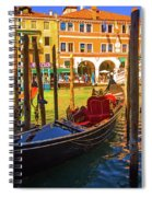 Visions Of Venice Spiral Notebook