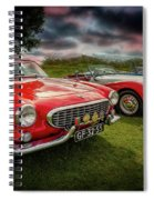 Volvo P1800 Classic Car Spiral Notebook