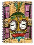 Wacker Place Chicago Spiral Notebook