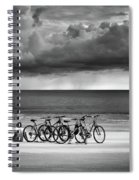 Waiting At The Edge Of The World Spiral Notebook