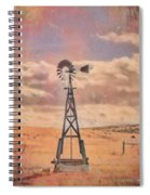 Waiting On The Wind Spiral Notebook