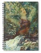 Waking Forest Spiral Notebook