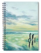 Walk At Sunset Spiral Notebook