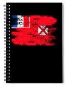 Wallis Futuna Shirt Gift Country Flag Patriotic Travel Oceania Light Spiral Notebook