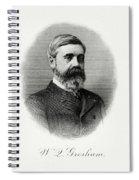 Walter Q. Gresham Spiral Notebook