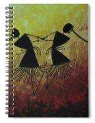 Warli Painting Spiral Notebook