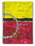 Warm Abstract Spiral Notebook