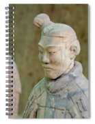 Warriors In Pit 1, Xi'an, China Spiral Notebook