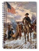 Washington At Valley Forge Spiral Notebook