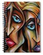 Watch Closely Spiral Notebook