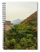 Watch Tower, Great Wall Of China Spiral Notebook
