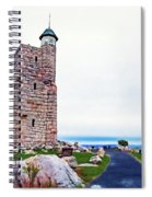 Watchtower Of The Sky Spiral Notebook