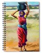 Water Carrier Spiral Notebook