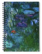 Water Lilies 1918 - Digital Remastered Edition Spiral Notebook