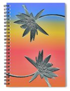 Water Lily Duo Spiral Notebook