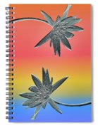 Water Lily Duo Two Spiral Notebook