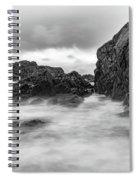 Water Of Fog Spiral Notebook