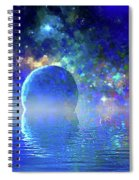 Water Planet One Spiral Notebook
