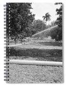 Water Spray Orchard Spiral Notebook