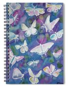 Watercolor - Butterfly Design Spiral Notebook