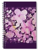 Watercolor - Cherry Blossom Design Spiral Notebook