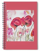 Watercolor - Poppy Portrait Spiral Notebook